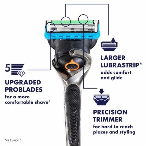 Gillette ProGlide Men's Razor Blade Refill Cartridges Perspective: back