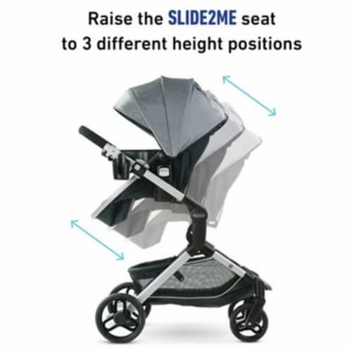 Graco 2112327 Modes™ Nest Stroller Perspective: back