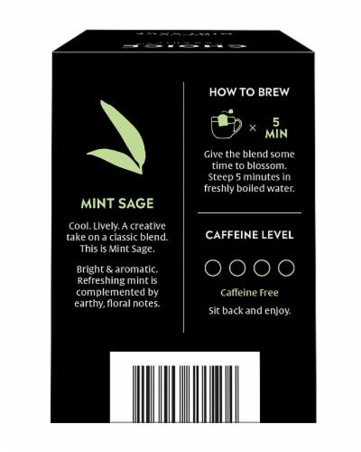 Choice Organics Mint Sage Perspective: back