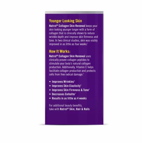 Natrol Collagen Skin Renewal Advanced Beauty Tablets Perspective: back