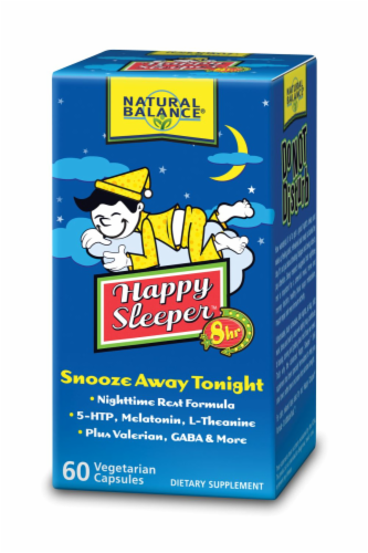 Natural Balance Happy Sleeper Dietary Supplement Perspective: back