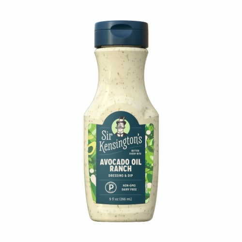 Sir Kensington's Avocado Lime Ranch Dressing Perspective: back