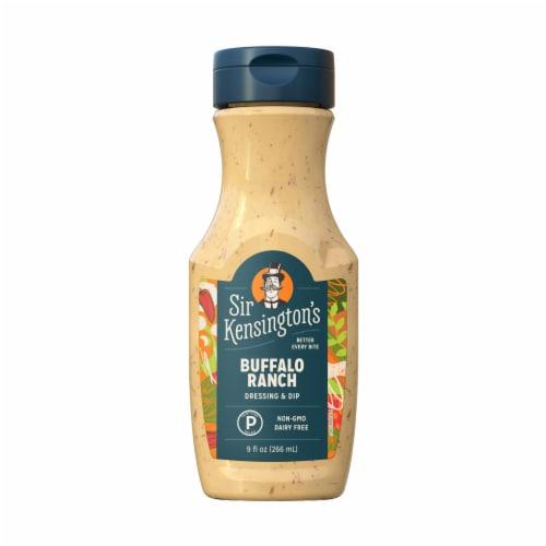 Sir Kensington's Keto & Paleo Buffalo Ranch Dairy-Free Dressing Sauce Dip Perspective: back