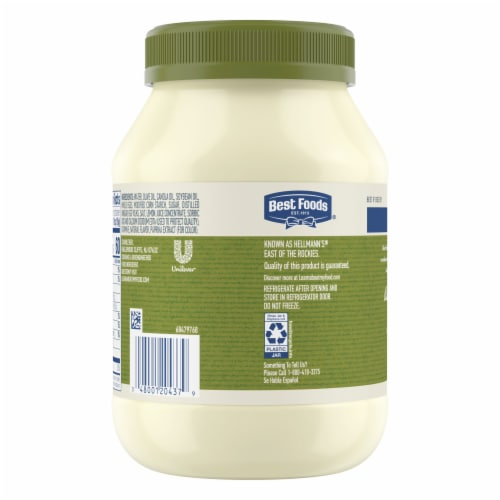 Best Foods Olive Oil Mayonnaise Dressing Perspective: back