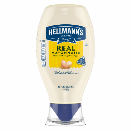 Hellmann's Real Mayonnaise Perspective: back