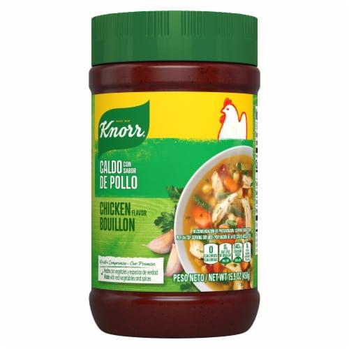 Knorr Chicken Flavor Bouillon Perspective: back