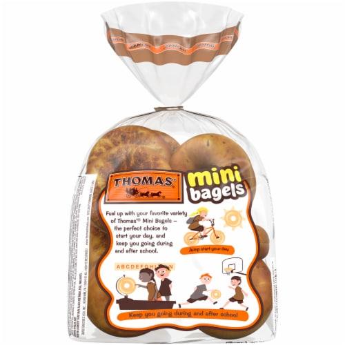 Thomas' Brown Sugar Cinnamon Mini Bagels Perspective: back