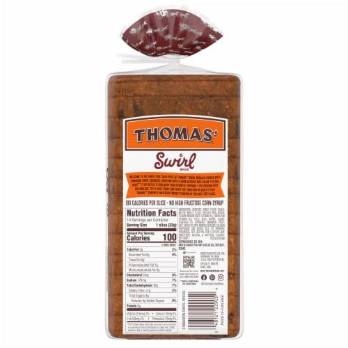 Thomas' Cinnamon Swirl Bread Perspective: back