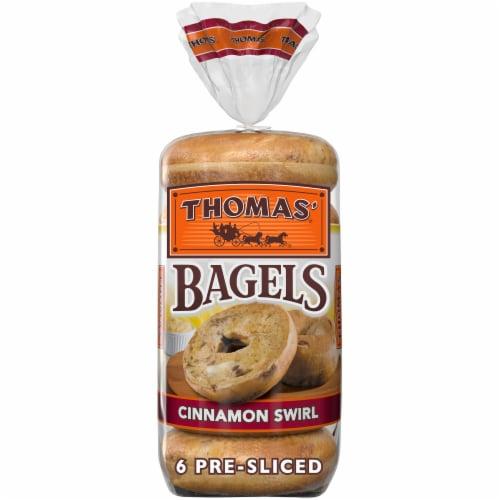 Thomas' Cinnamon Swirl Bagels Perspective: back