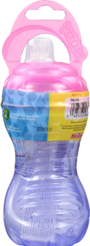Nuby Easy Grip Squeeze Bottle Perspective: back