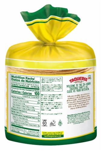 Guerrero Taqueria Style Mini Yellow Corn Tortillas Perspective: back