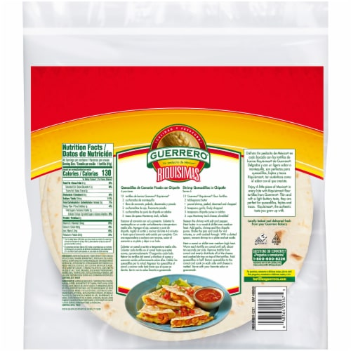 Food 4 Less Guerrero Soft Taco Flour Tortillas 40 Count 8 In