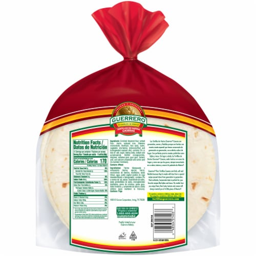 Fred Meyer Guerrero Caseras Soft Taco Flour Tortillas 10 Ct 20 83 Oz