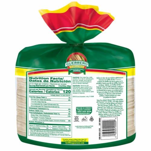 Guerrero White Corn Tortillas Perspective: back