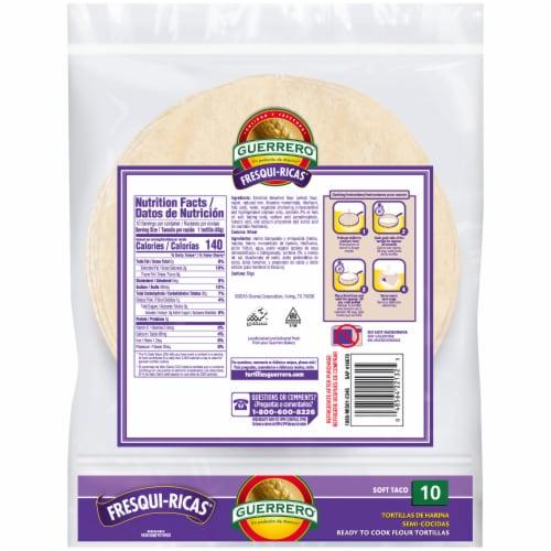 Guerrero Fresqui-Ricas Flour Tortillas Perspective: back