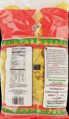 Juanita's Tortilla Chips Perspective: back