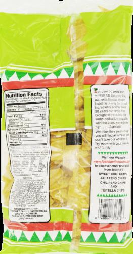 Juanitas Gluten Free Jalapeno Tortilla Chips Perspective: back