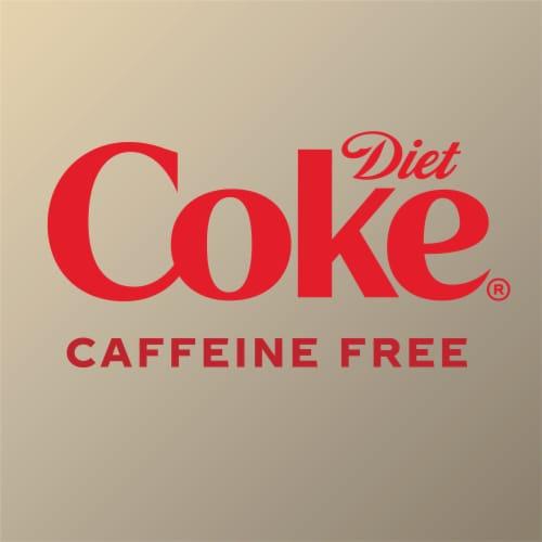 Diet Coke Caffeine Free Soda Perspective: back