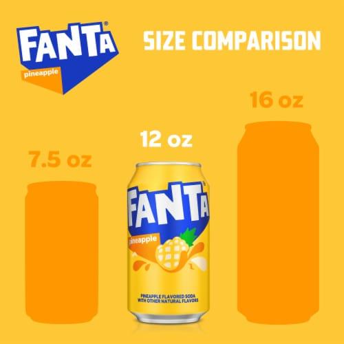 Fanta Pineapple Soda Perspective: back