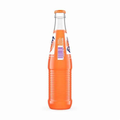 Fanta Mexican Orange Fruit Flavored Soda Perspective: back