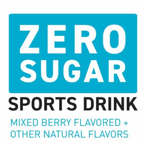 Powerade® Zero Sugar Mixed Berry Sports Drink Perspective: back