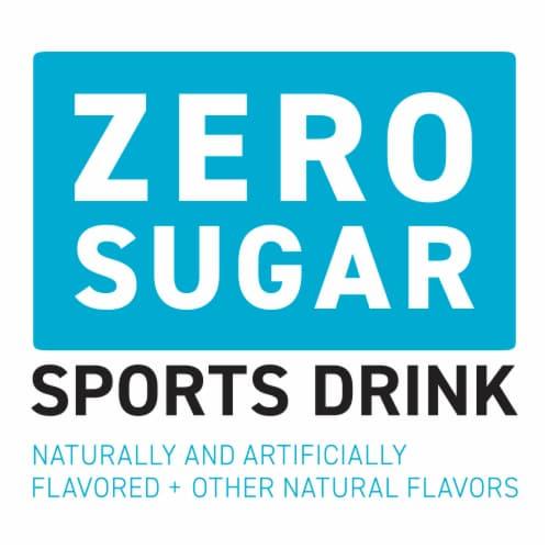 Powerade Zero Sugar Mixed Berry Sports Drink Perspective: back