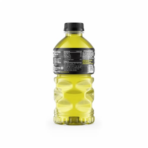 Powerade Lemon Lime Sports Drink Perspective: back