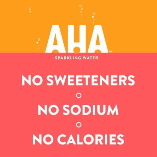 AHA Orange + Grapefruit Sparkling Water Perspective: back