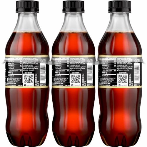 Coca-Cola Zero Sugar Vanilla Cola Soda Perspective: back