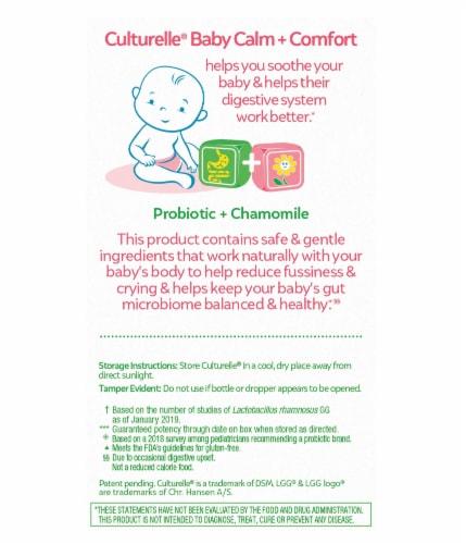 Culturelle Baby Calm + Comfort Probiotic + Chamomile Drops Perspective: back