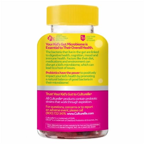 Culturelle Kids Berry Blast Flavor Probiotic Gummies Perspective: back