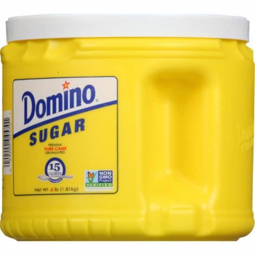 Domino® Pure Granulated Cane Sugar Perspective: back