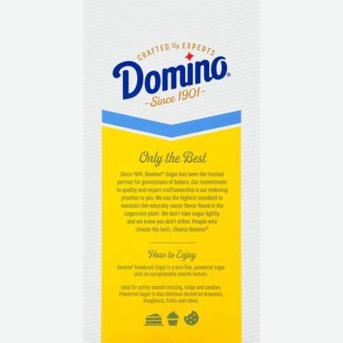 Domino Pure Cane Confectioners Sugar Perspective: back