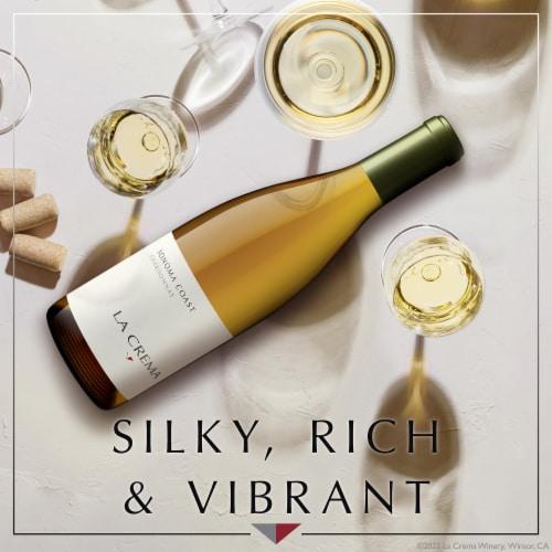 La Crema Sonoma Coast Chardonnay White Wine Perspective: back