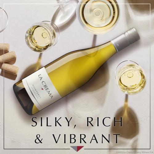 La Crema Monterey Chardonnay White Wine Perspective: back
