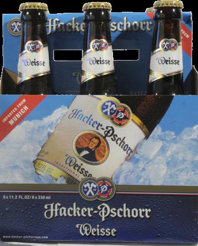 Hacker Pschorr Weisse Beer Perspective: back