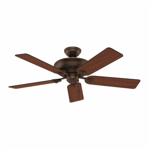 Hunter Fan Company 53200 Italian Countryside Ceiling Fan with Light, P.A. Cocoa Perspective: back