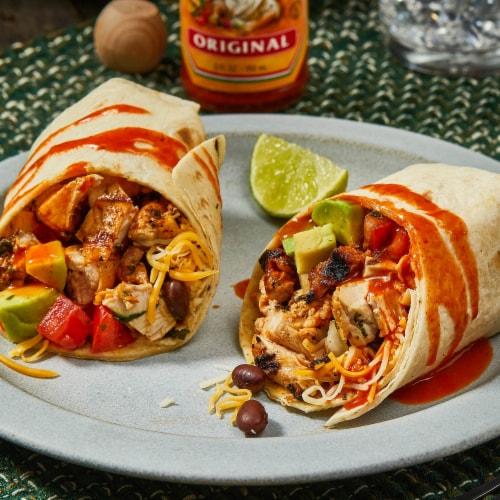 Cholula Original Hot Sauce Perspective: back