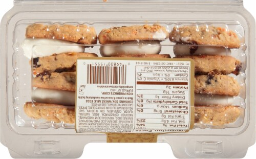 Our Specialty Sweet Middles Carrot Cake Cookies 6 Count Perspective: back