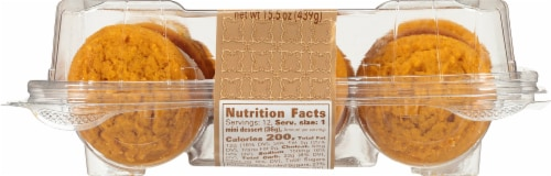 Our Specialty Sweet Middles Pumpkin Spice Mini Desserts Perspective: back