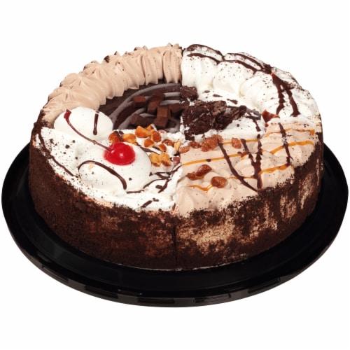 Jon Donaire Variety Sampler Premium Ice Cream Cake Perspective: back