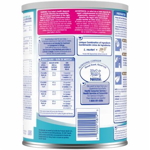 Nestle® NAN® Pro Infant Formula with Iron Powder Perspective: back