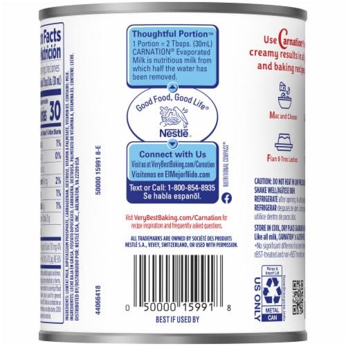 Carnation Evaporated Lowfat 2% Milk Perspective: back