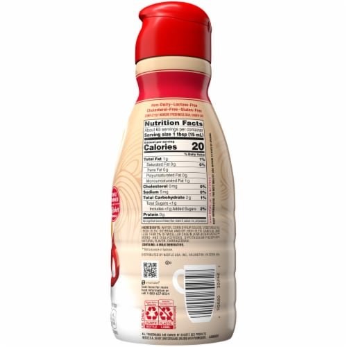 Coffee-mate® The Original Liquid Coffee Creamer Perspective: back