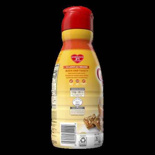 Nestle Coffee mate Hazelnut Liquid Coffee Creamer Perspective: back
