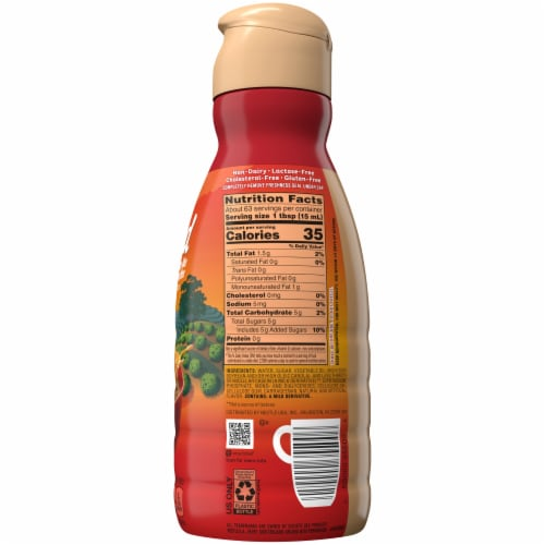 Coffee-mate Unlocked Classic Colombian Coffee Creamer Perspective: back