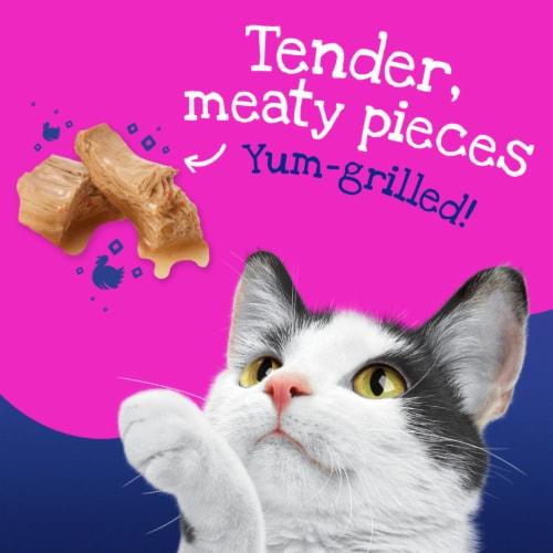 Friskies Stuf'd & Sauc'd Turkey & Gravy Wet Cat Food Perspective: back