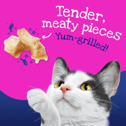Friskies Stuf'd & Sauc'd Jamm'n with Salmon & Shrimp Wet Cat Food Perspective: back