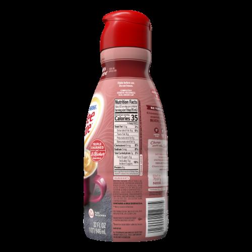 Nestle Coffee mate Cinnamon Vanilla Creme Liquid Coffee Creamer Perspective: back