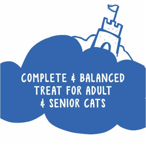 Friskies Party Mix Beachside Crunch Cat Treats Perspective: back